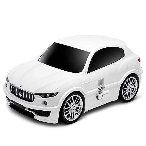 Ridaz Kids Travel Gepäck Handkoffer - Maserati Levante - Weiß