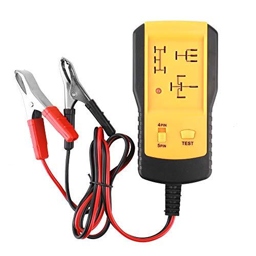 LEAMER Comprobador de batería para coche, 12 V, herramienta de diagnóstico rápida y duradera, universal