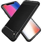 Beikell Hülle für iPhone X, Hochwertig Handy Schutzhülle - rutschfest Stoßfest Anti-Kratzen Anti-Fingerabdruck für iPhone X/iPhone 10