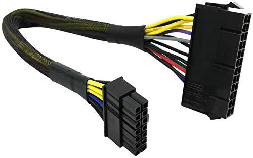 24 bis 14 Pin ATX Lenovo Q77 B75 A75 Q75 Netzteil Motherboard Adapter Kabel 30cm