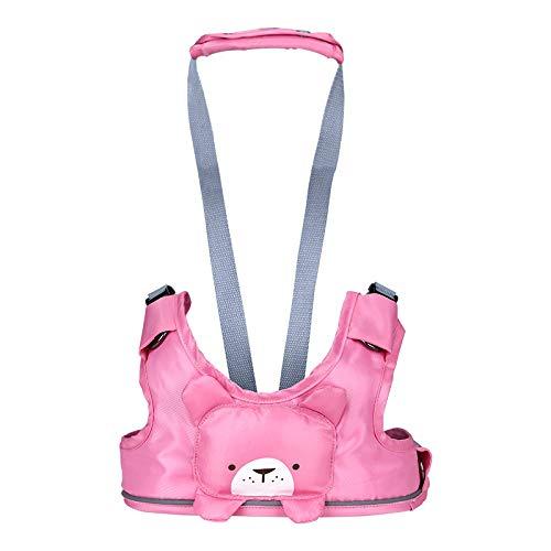 Brede baby wandelen assistent peuter leren lopen verstelbare veiligheid harnas anti-verloren riem met Leash (10-24 maanden)