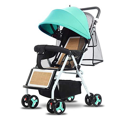 WYX-Stroller Kinderwagen Kinderwagen Klappkinderwagen Leichte Kinderwagen 360 Grad Schwenkräder Für 0-3 Altersgruppen,c