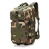 FBFG35L, Mochilas tácticas Militares de Gran Capacidad para Hombres, Bolsas de Asalto Militar, Paquete 3P para Exteriores, para Senderismo, Acampada, Caza, Bolsa al Aire Libre 8