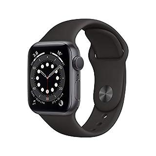 Apple Watch Series 6 GPS, 40mm Space Gray Aluminium Case with Black Sport Band - Regular (B08J676WX8) | Amazon price tracker / tracking, Amazon price history charts, Amazon price watches, Amazon price drop alerts