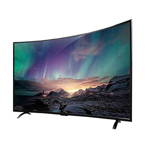 HOUSEHOLD Televisor de Red Inteligente Curvo, televisor de Red WiFi Inteligente LCD LED de Alta definición, televisor Inteligente 4K Full HD de 32 Pulgadas / 42 Pulgadas / 50 Pulgadas / 55 Pulgadas