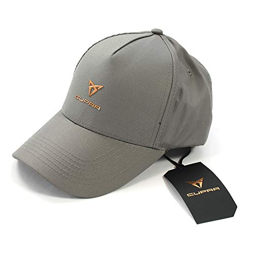 Seat 6H1084300IAF Cupra Baseballkappe Cap Basecap Mütze, grau