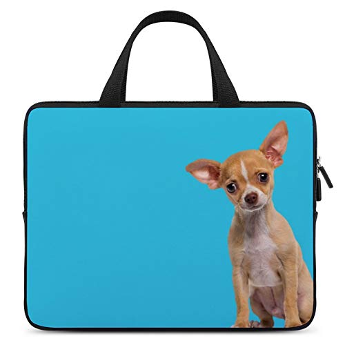 Universal Laptop Computer Tablet,Case,Cover for Apple/MacBook/HP/Acer/Asus/Dell/Lenovo/Samsung,Laptop Sleeve,Color for Dog Chihuahua Puppy Russkiy Toy,10inch