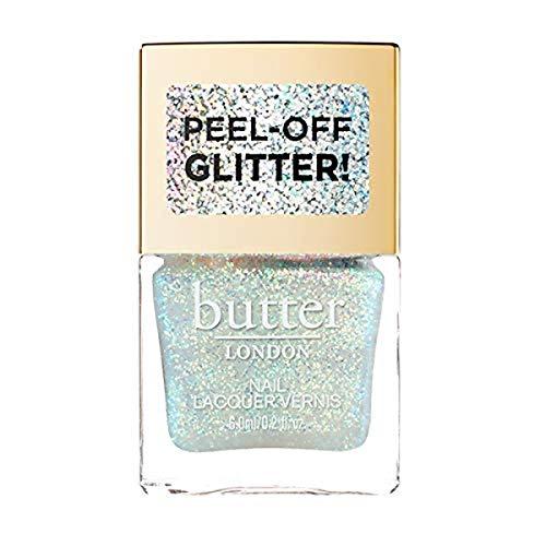 butter LONDON Glazen Peel-off Glitter Lacquer, Aura