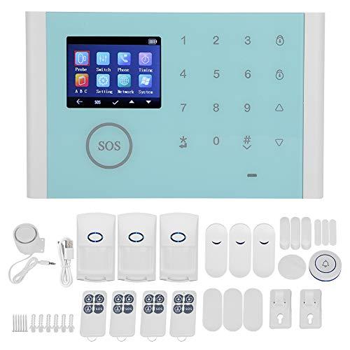 Germerse Sistema de Alarma por Voz práctico, Robusto y Duradero de Alta sensibilidad Sistema de Alarma de Amplia aplicación Oficina de Hotel para Casas residenciales
