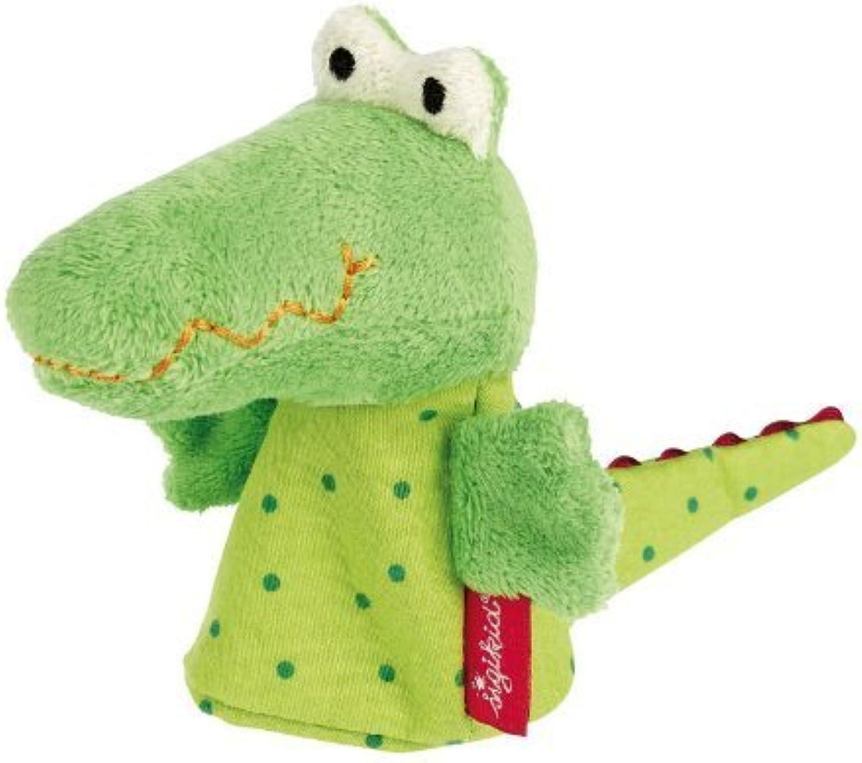 Sigikid Finger Puppet Crocodile by sigikid B017JHR2D4 Zuverlässige Qualität | New Style