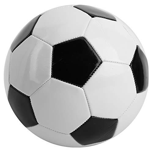 IDWT Calcio, Esercizio Calcio Classico Bianco e Nero, Attrezzature Sportive per Esercitarsi per Allenamento con Pallone da Fitness