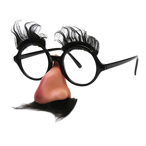 『Harilla ハロウィンメガネ眉毛ひげ鼻パーティーコスプレスペック小道具』の3枚目の画像