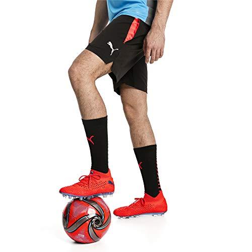 Puma ftblNXT Pro Shorts Pantalon De Jogging Homme, Black-Red Blast, M