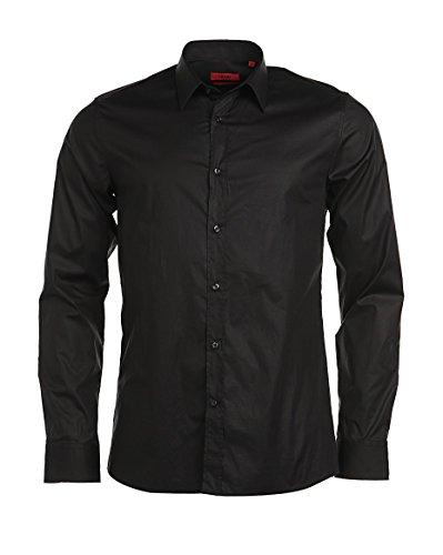Hugo Boss Elisha 001 T-shirt à manches longues Noir - Noir - X-Large