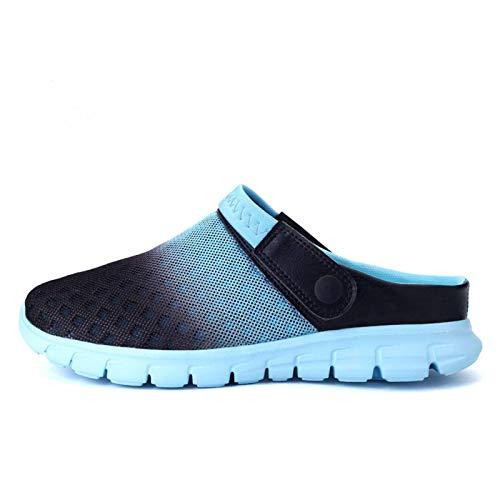 N-B Zapatos de playa 36 – 46, zapatos de agua, zapatos transpirables, ligeros, para el tiempo libre, para el verano, para hombre