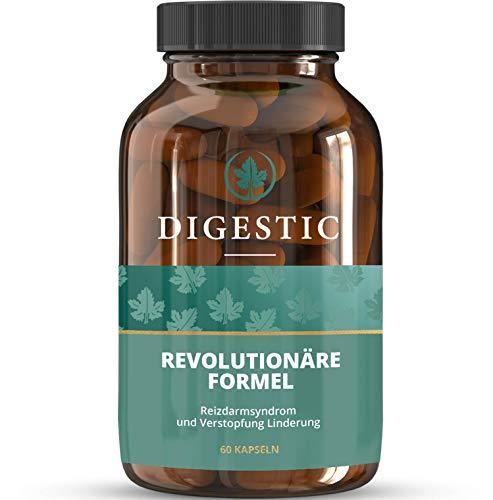 Digestic© Large bottle - NEU - Nahrungsergänzungsmittel gegen chronische Verstopfung. 100% natürlich (60 Kapseln)