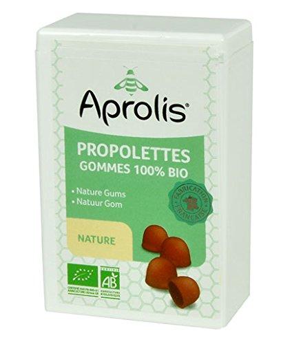 Gommes Bio 'Nature' pour la Gorge - Propolis - 50g