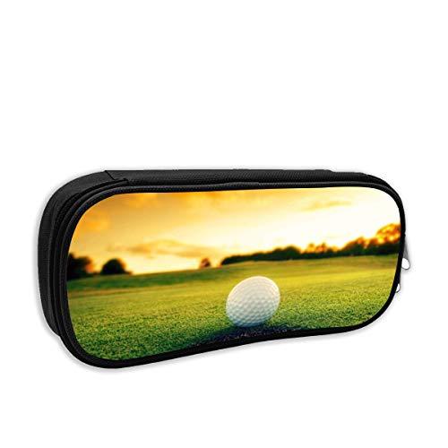 Golfball in der Nähe von Loch Federmäppchen für Mädchen - Schulmäppchen für Schreibwaren - Schulsachen Federtasche, Jungen Federmappe, Mäppchen für Schule