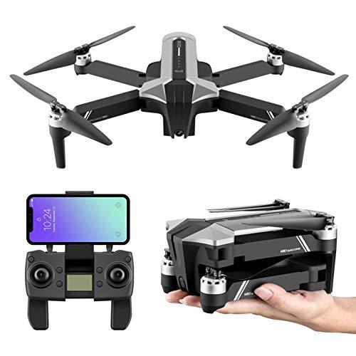 BaiTTang Drone GPS para Adultos con cámara 4K UHD, Distancia de RC Ultra Long 3280FT, Tiempo de Vuelo de 30 Minutos, 5,8 GHz FPV Video en Vivo Quadcopter con Motor sin escobillas