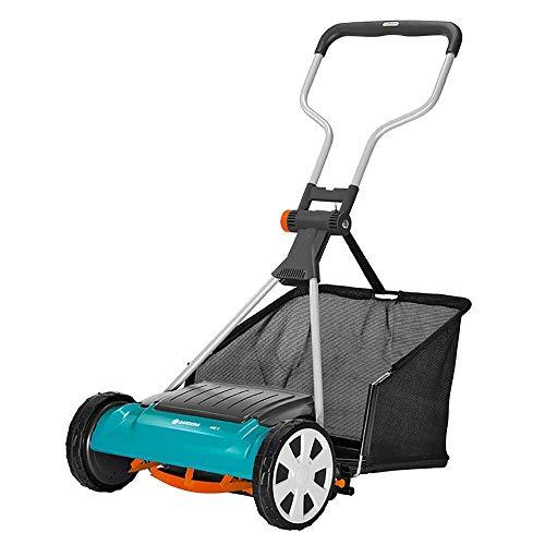 Garden Mower, Small Mower Electric, Non-Contact Cutting, Labor-Saving Mute,...