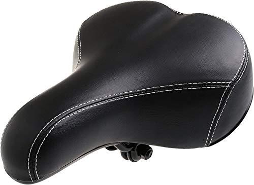 BENSON 11547 - Accessori Bici Sella Bici Unisex in Gel per Bicicletta, colore:nero