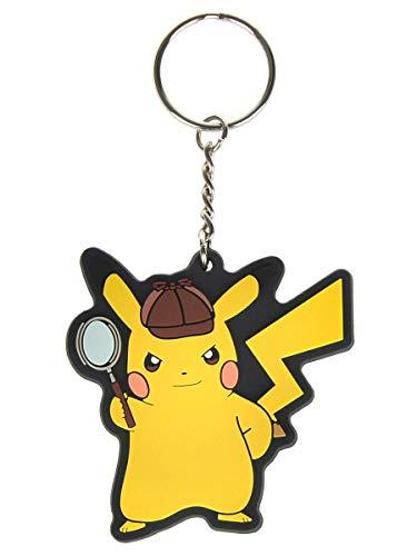 Pokemon Schlüsselanhänger mit Meisterdetektiv Pikachu