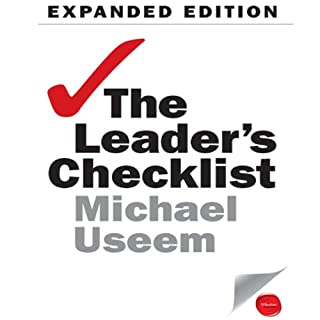 The Leader's Checklist Expanded Edition audiobook cover art