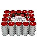 Velas de té aromáticas (Frutos Rojos Pack 100 Velas)