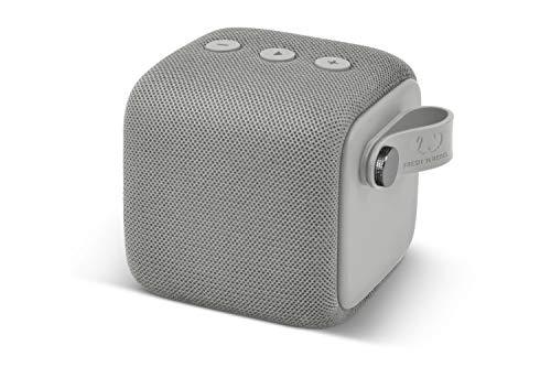 Fresh 'n Rebel Rockbox Bold S Ice Grey| Altoparlante Bluetooth Waterproof Ipx7, 12 Ore Autonomia, Resistente all'Acqua - Vivavoce, grigio ghiaccio