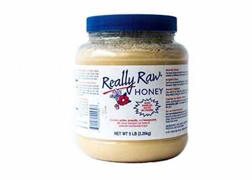 Really Raw Honey 5 Pound Jar