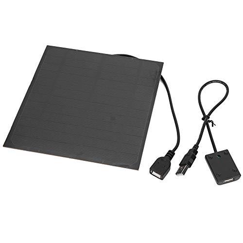 Alomejor 4,5 W Solar Ladegeräte 5 V Wasserdicht Tragbare Dual USB Solar Panel Ladegerät mit Manostat für Smartphone Tablet Kamera Powerbank und Camping Travel