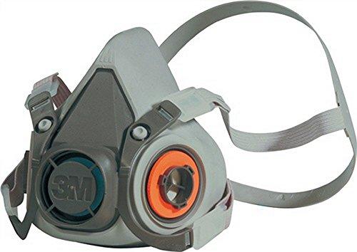 –Semimáscara para protección respiratoria 6200Serie 6000O. filtro 4pkt de bebänderung 3m m. Diadema