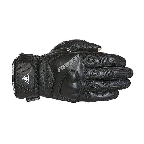Racer Short Sport Handschuh, Schwarz, Größe XL