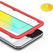 BANNIO 3 Stück für Panzerglas für iPhone 6s/iPhone 6/iPhone 7/ iPhone 8/iPhone SE 2020,Panzerglasfolie Schutzfolie mit Positionierhilfe,9H Härte Displayschutzfolie,Blasenfrei,Kristall-klar