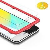 [3 Pacco]BANNIO Pellicola protettiva per iPhone 6 iPhone 6S,[Telaio di installazione Incluso]Pellicola Vetro...