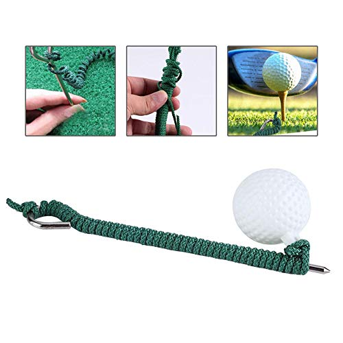 Jacksking Golf-Seil-Ball, Golf-Fliegen-Schwingen-Trainings-Seil-Ball draußen Golfclub-Praxis-Zusätze