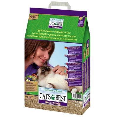 Doppelpack Cat\'s Best Nature Gold Katzenstreu 2 x 20 Liter