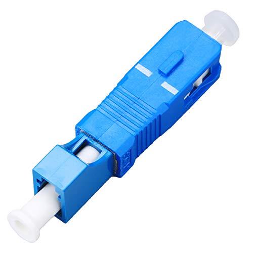 FTTH Optisches Gerät, LC-Buchse auf SC-Stecker, Hybrid-Flansch, Singlemode, 9/125 SM, Glasfaser-Adapterstecker für digitale Kommunikation