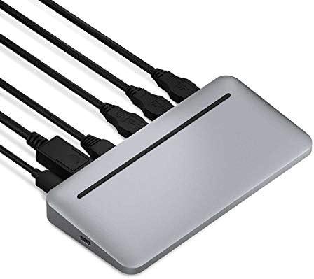 Brydge Stone II USB C Multiport Desktop Hub Compatible with MacOS Windows Single 4K Display product image