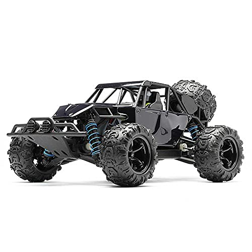 Weaston Vehículo de Escalada Todoterreno de simulación 1/16, Coches de Carreras de Alta Velocidad a 45 km/h, Camiones de orugas Monstruo RC de Juguete eléctrico Todoterreno de 2,4 G, 4WD, Potente