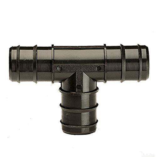 Ubbink Teich Schlauch Verbinder T-Stück 3x 32mm (11/10,2cm)