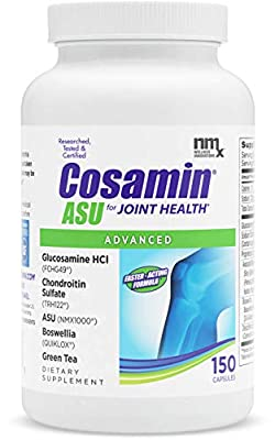 Cosamin ASU Capsules, #1 Researched Glucosamine & Chondroitin Joint Health Supplement, 150 Count