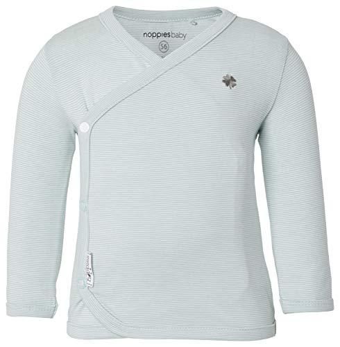 Noppies Baby-Unisex U Tee ls Soly yd T-Shirt, Grün (Grey Mint C175), (Herstellergröße: 56)