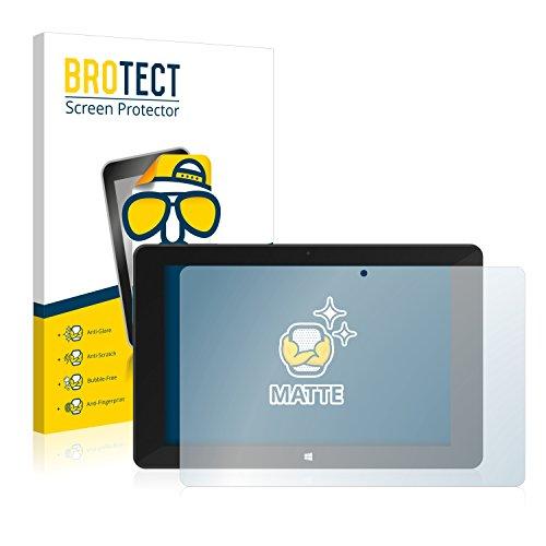 BROTECT 2X Entspiegelungs-Schutzfolie kompatibel mit TrekStor Volks-Tablet (2015) Bildschirmschutz-Folie Matt, Anti-Reflex, Anti-Fingerprint