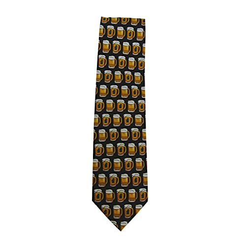 Beer Mugs Sleeved 100% Polyester Classic Tie