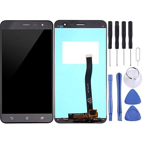 Mingxian Pantalla LCD y digitalizador Asamblea Completa for ASUS ZenFone 3 / ZE552KL (Negro) (Color : White)