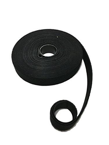 Rollo de cinta de velcro de 10 metros y gancho de doble...
