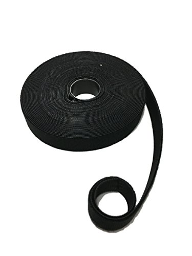 10Meter Klettband-Rolle Klettverschluss Flausch + Haken DOPPELSEITIG – beidseitig 2in1 – ideal für Kabel, Werkstatt, Garten – zuschneidbar – Klettbänder Kabel-Binder Organizer sortieren (20mm Breit)