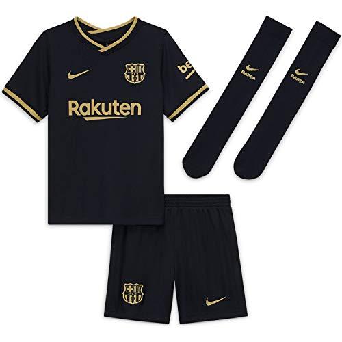 NIKE Fc Barcelona Temporada 2020/21 - Fcb Lk Nk Brt Kit Awcd4589-011 Kit Completo Segunda Equipación Niños