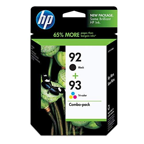 HP 92 | 2 Ink Cartridges | Black, Tri-color | C9361WN, C9362WN